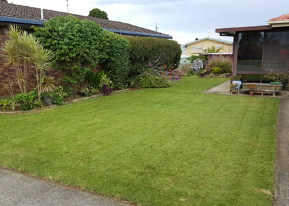 Lawn mowing, edging & snipping service